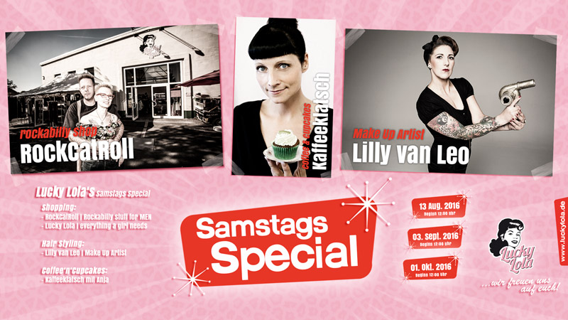 Lucky Lola`s Samstags Specials!