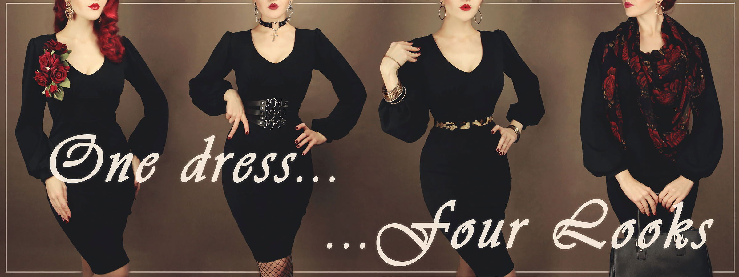 One Dress – four Looks